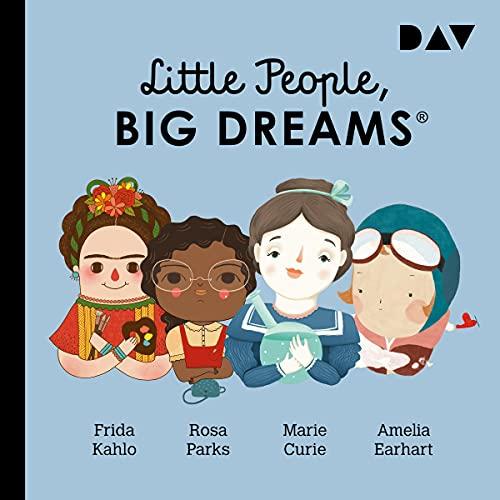 Frida Kahlo, Rosa Parks, Marie Curie, Amelia Earhart cover art