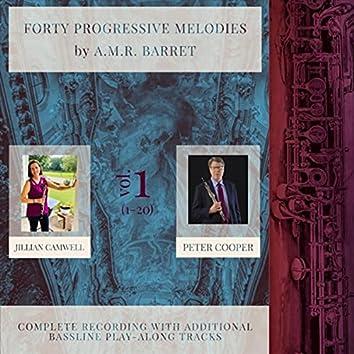 40 Progressive Melodies by A.M.R. Barret, Vol. 1