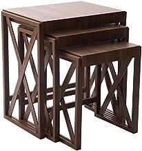 Tea and Coffee Table Set (Brown)