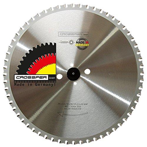 Hoja de sierra circular de metal 315 x 30 Z60 WWF dentado