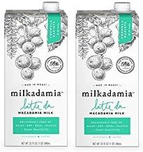 milkadamia Macadamia Milk, Latte Da Barista Blend - 32 Oz, 2 Count