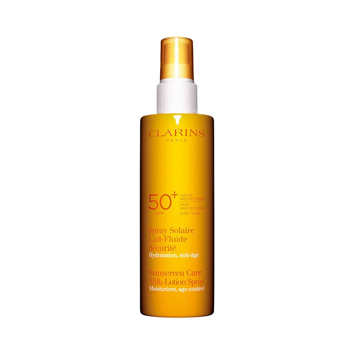 腸ブルーム寮Clarins Sun Care Milk-lotion Spray Uva/uvb 50 150ml [並行輸入品]