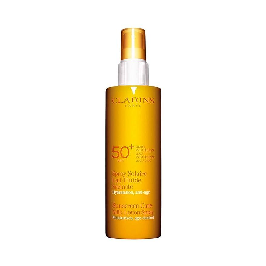 アルミニウム雑多な航空機Clarins Sun Care Milk-lotion Spray Uva/uvb 50 150ml [並行輸入品]