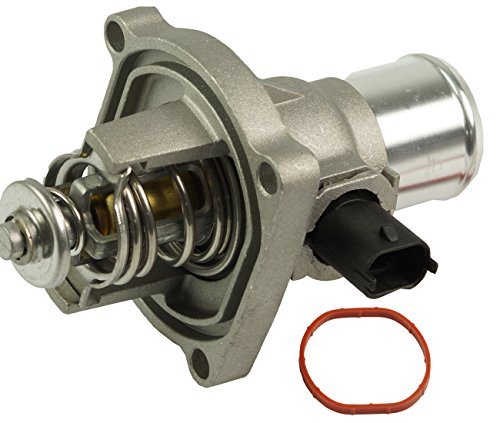 TOPAZ 96984104 Coolant Thermostat Assembly with Housing for Chevrolet Cruze Pontiac G3