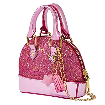Glitter Purse Princess Small Dome Purse