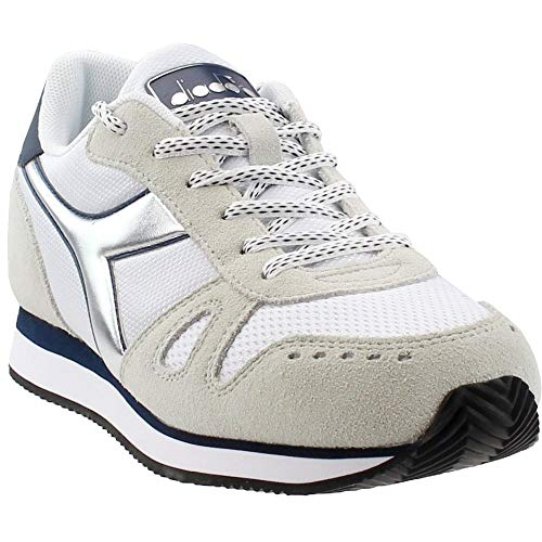 Diadora Womens Simple Run Lace Up Sneakers Shoes Casual - Blue - Size 9.5 B