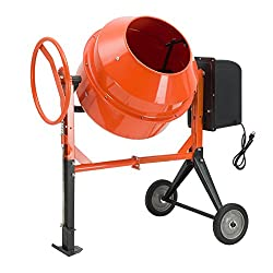 top 10 concrete mixer Electric mixer for concrete SUNCOO 4/5HP 5 cu. Mortar for mixing the plaster of Fort Paris. Portable cart …