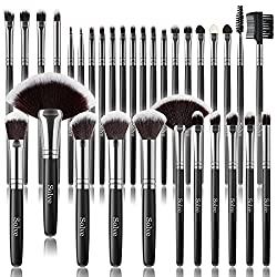 Solve makeup brushes