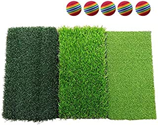GolfAnytime Golf Mat Indoor Golf Hitting mat Golf Practice mat Golf Mats for Backyard Golf Turf Practice Mat
