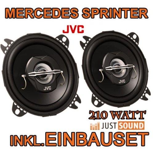Mercedes-Benz Sprinter - Lautsprecher - JVC CS-J420-10cm Koaxe