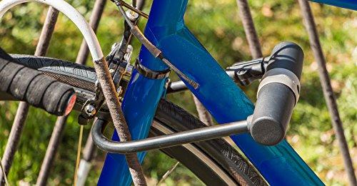 Stanley Fahrradschloss Bügelschloss (14mm x 247 mm, 3 Schlüssel) S755-201 - 5
