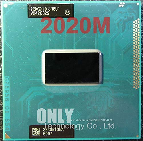 Dual-Core Mobile CPU 2020M 2.4GHz L3 2M Socket G2 / rPGA988B