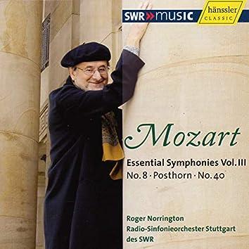Mozart: Essential Symphonies, Vol. 3 (Live)