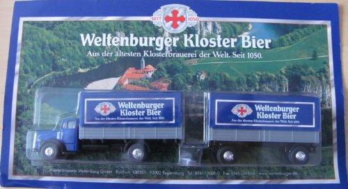 Weltenburger Nr.03 Kloster Bier - MB 6600 - Hängerzug Oldie