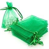 SUVIA - 100 bolsas de organza multicolor, para boda o regalo