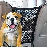 Lylyzoo Pet Barrier Dog Car Net Barrier Dog Car Seatbelt, Seat Mesh Obstacle Vehicle Travel Dog Backseat Barrier, Car Organizer,Dog Seat Belt,Dog Carrier,Backseat Dog Divider,Dog Carrier,Pet Barriers