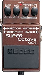 BOSS OC-3 Electronic Keyboard Drop Tune Pedal Review