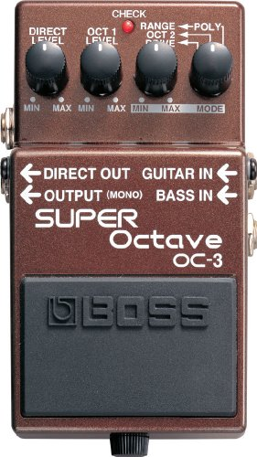 BOSS OC-3 Super Octave Guitar Pedal