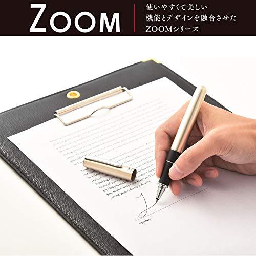 トンボ鉛筆水性ボールペンZOOM505bw0.5BW-2000LZ