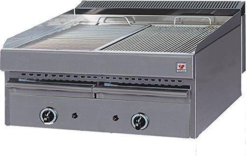 North Pro T72Gas Grill 22kW mit Wasser Schublade–LxBxH: 765x 700x 430(Made in Griechenland)