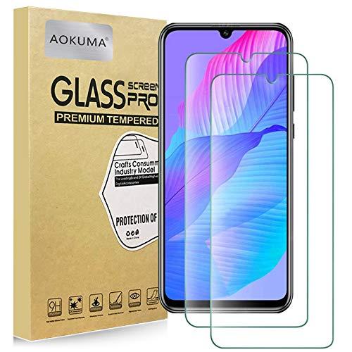 AOKUMA Huawei P Smart S Verre Trempé, [Lot de 2] Verre Trempé Huawei P Smart S [0.26mm] [Extreme Résistant aux Rayures][Haut Définition] Facile Installation Film Protection écran