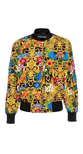 Versace Jeans Couture Herren Winterjacke Tropical Baroque Nero 50 EU
