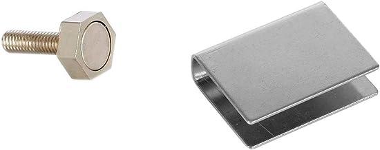 Eliga deurmagneet 15 mm met U-hechtplaat voor glazen deuren 10 mm
