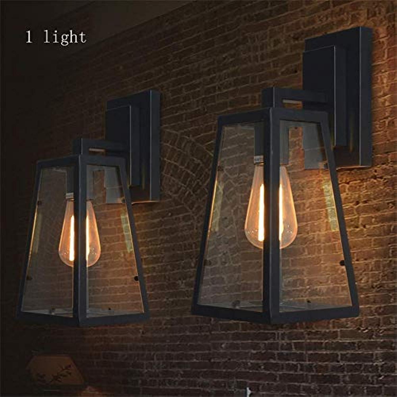 MDD Lampe, Vintage American Iron Industrial Wand Gang Bar Cafe Wand Gesund und umweltfreundlich Schützen Sie die Augen