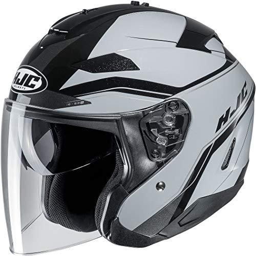 Casque moto HJC IS-33 II KORBA MC5, Noir/Gris, XL