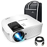 VANKYO Leisure 510 HD Movie Projector with 4500 Lux, Video Projector with 230' Projection Size, Support 1080P HDMI VGA AV USB with HDMI Cable and Carrying Bag