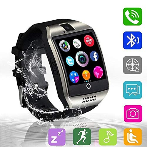 KDSFJIKUYB Smart Watch Q18 Bluetooth Smart Watch Met Camera Facebook Whatsapp Twitter SMS Smartwatch Ondersteuning SIM TF-kaart Voor IOS Android