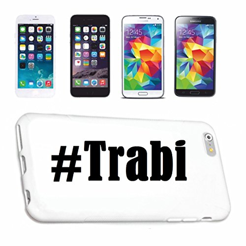 Reifen-Markt Handyhülle kompatibel für iPhone 6 Hashtag #Trabi im Social Network Design Hardcase Schutzhülle Handy Cover Smart Cover