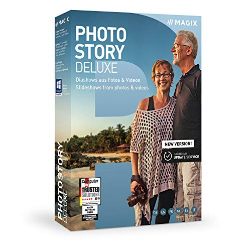 Photostory Deluxe – Version 2020 – Animierte Diashow aus Fotos & Videos|Deluxe|2...