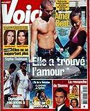 VOICI [No 925] du 01/08/2005 - AMEL BENT - NATACHA AMAL ET INGRID CHAUVIN - SOPHIE THALMANN - L'ILE DE LA TENTATION - JUDE LAW - SIENNA - ORLANDO.