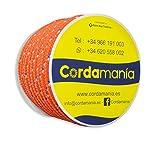 Cordamanía CMDE14CEGZ Cuerda, Naranja, 10 mm