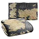 Game of Thrones Blanket, 36'x58', Westeros Map, Silky Touch Super Soft Throw Blanket
