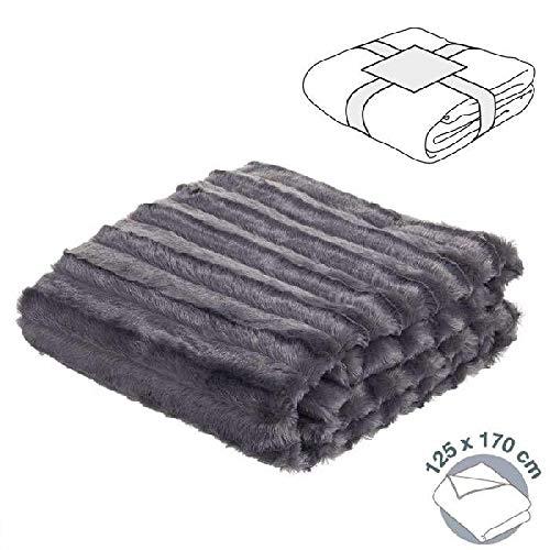 DCASA haarstrepen. Referentie DC deken voor bed en sprei, huishoudtextiel, unisex, volwassenen, kleur 125 x 170 x 0,1 cm