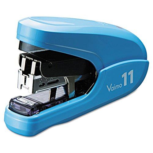 Max HD11FLKBE Flat Clinch Light Effort Stapler, 35-Sheet Capacity, Blue