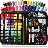 MJJCY 100 unids/Set Caja de Costura portátil Kits Kits Herramientas Herramientas de Acolchado Hilo Costura Bordado Artesanía Costura Home Viajes Organizar (Color : Colorful)