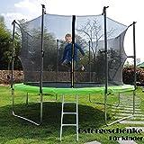 ISE Ø 250 Gartentrampolin Kindertrampolin Garten Trampolin für Kinder,TÜV...