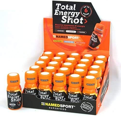 NAMED SPORT Total Energy Shot - A BASE DI CAFFEINA - Box 25 Flacconcini