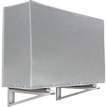 エアコン室外機カバー 雪 冬 収納 大型 家庭用 (L)
