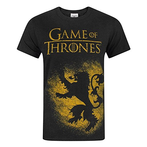 Game Of Thrones House Lannister Men's T-Shirt (L)
