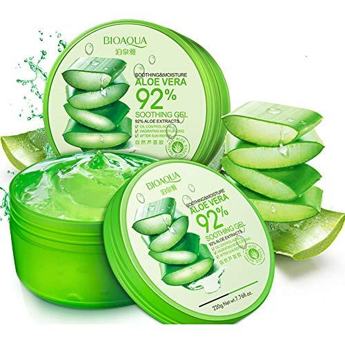 WSX Traitement anti-acné Enlèvement des cicatrices Crème Visage Blanchissant Hydratant Aloe Vera Gel pour les soins du visage Masque Visage