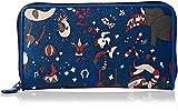 piero guidi Travel, Portafoglio Donna, Blu (Blu di Prussia), 19x10.5x2 cm (W x H x L)