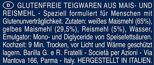 Barilla Pasta Penne Rigate Glutenfrei aus Reis und Mais, 14er Pack (14 x 400g) - 6