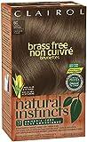 Clairol Natural Instincts, 6C, Brass Free Light Brown