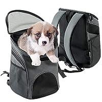 Viel Platz und sehr langlebig - Dies ist ein Rucksack, der speziell für Haustiere entwickelt wurde. Hergestellt aus umweltfreundlichem Polyester mit weichem Rahmen, langlebig und kratzfest. Der Hunde-Rucksack ist geeignet für Haustiere mit einem Gewi...