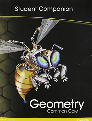 Download Geometry Common Core: Student Companion 013318594X
