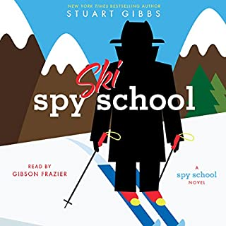 Spy Ski School audiobook cover art